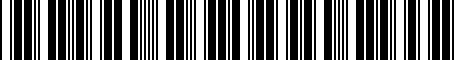 Barcode for ZAW072850A